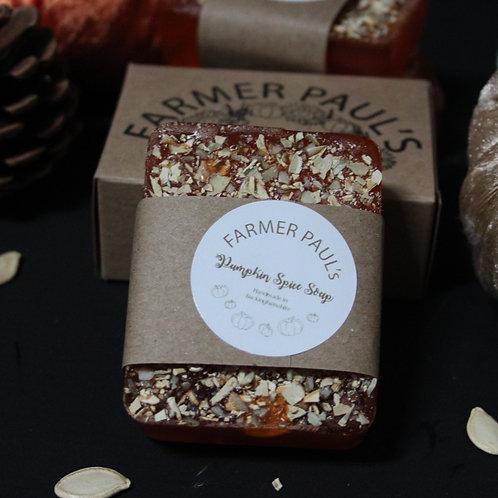 Pumpkin Spice Handmade Soap 90g