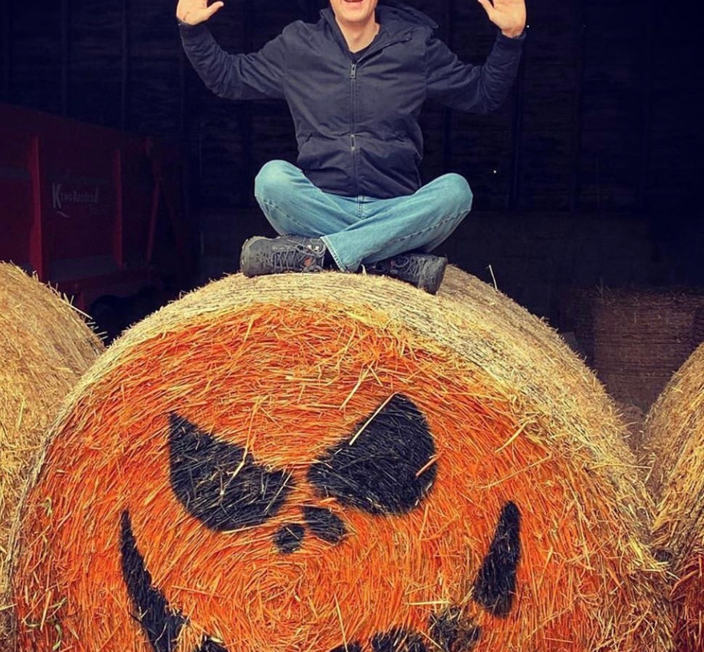 Our Giant Bale Pumpkins are Great Fun