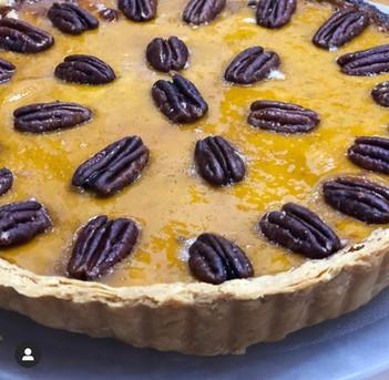 Pumpkin and Peacan Pie