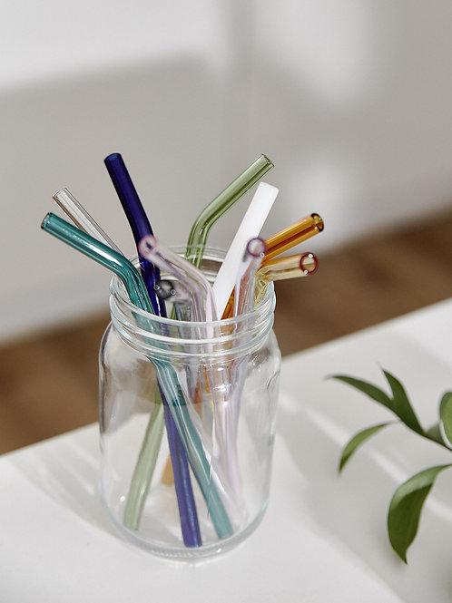 Ống Hút Thuỷ Tinh Uốn Cong / Reusable Borosilicate Straw Bend