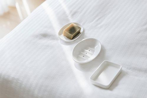Khay Xà Phòng Gốm / Ceramic Soap Dish