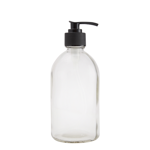 Lọ Thuỷ Tinh, Vòi Pump/ Glass Bottle With Plastic Pump Head, 350ml