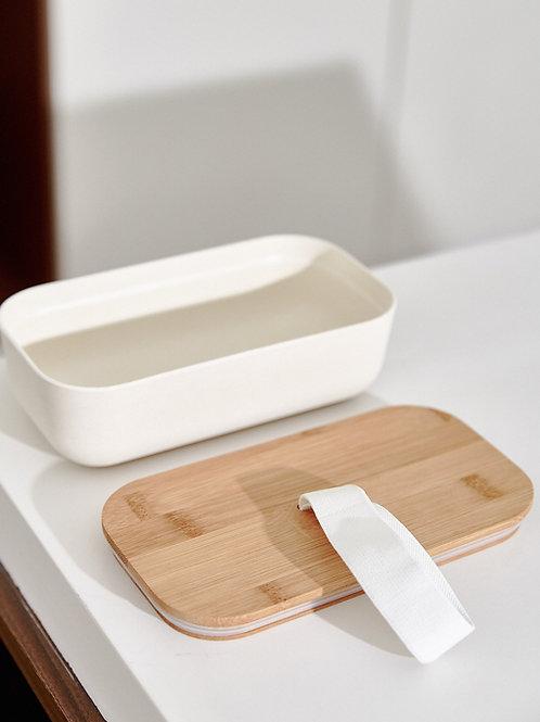 Hộp Bento Nắp Tre / Bento Lunch Box