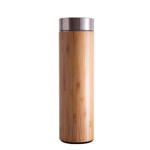 Bình Nước Giữ Nhiệt Bằng Tre / Bamboo Tumbler 500ml