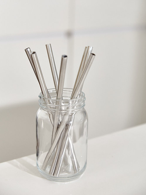 Ống Hút Inox - Thẳng / Stainless Steel Straw - Straight