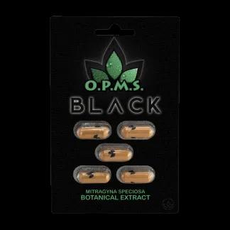 OPMS Black Extract Capsules 5 pc.