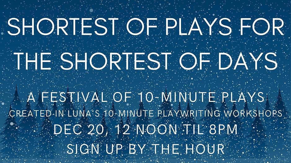 Copy of A Festival of 10-Minute Plays De