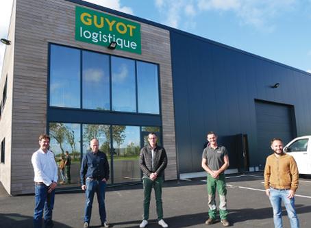 GUYOT logistique s'installe à Landerneau