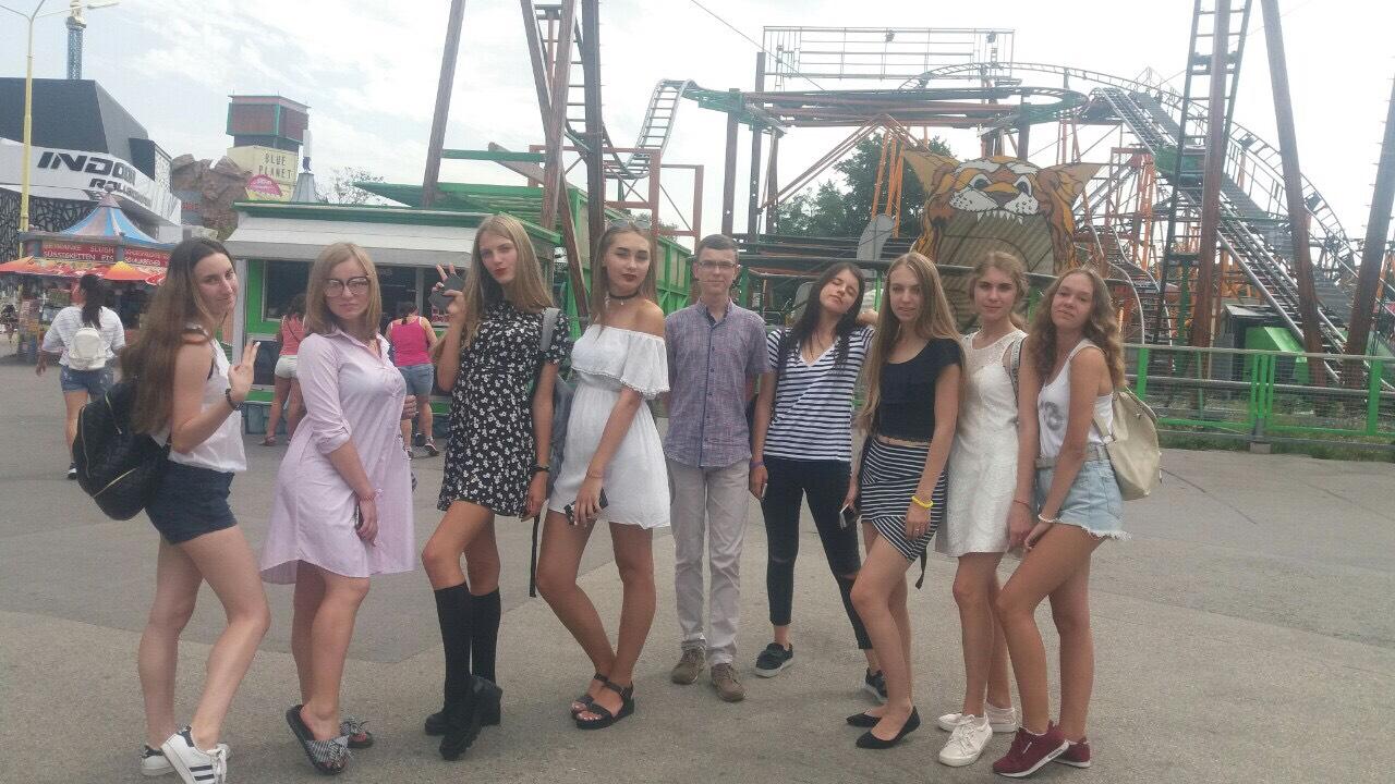 Наши девочки в Вене