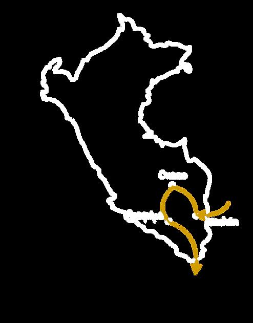Itinéraire Pérou 4 semaines