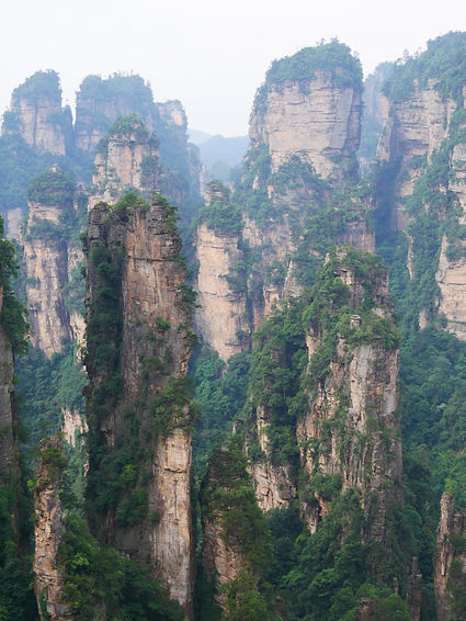 Parc Zhangjiajie - Douze regards du monde