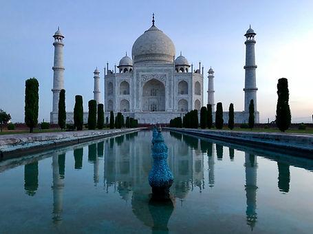 Taj Mahal seul