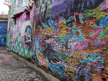 Rue avec es tags Sao Paulo