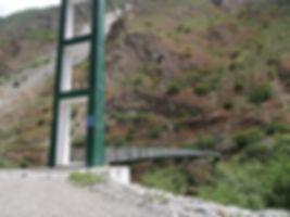 Pont sur le chemin du Choquequirao