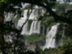 Les chutes d'Iguaçu vues d'Argentine.