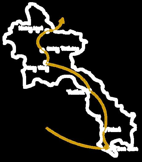 Itinéraire Laos