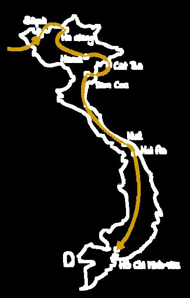 Itinéraire Vietnam