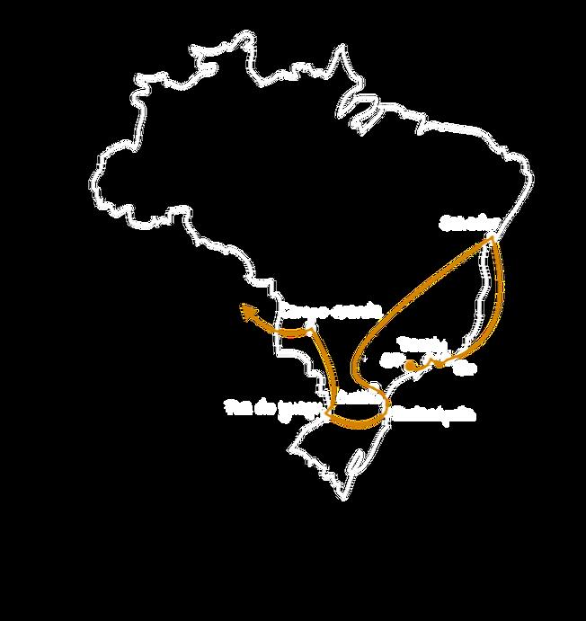 Itinéraire Brésil 4 semaines