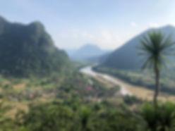 Vue de Muang Ngoi