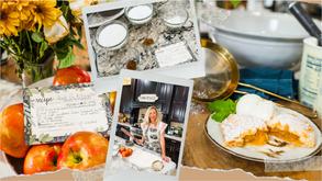 Apple Pie Recipe Collage