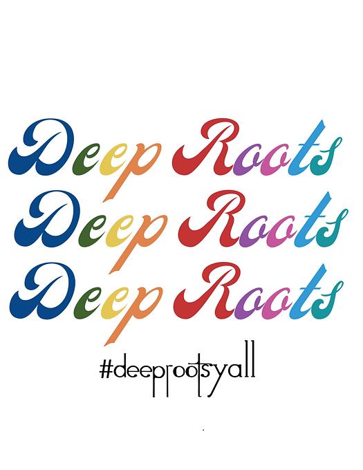 Deep Roots Rainbow T-shirt Design