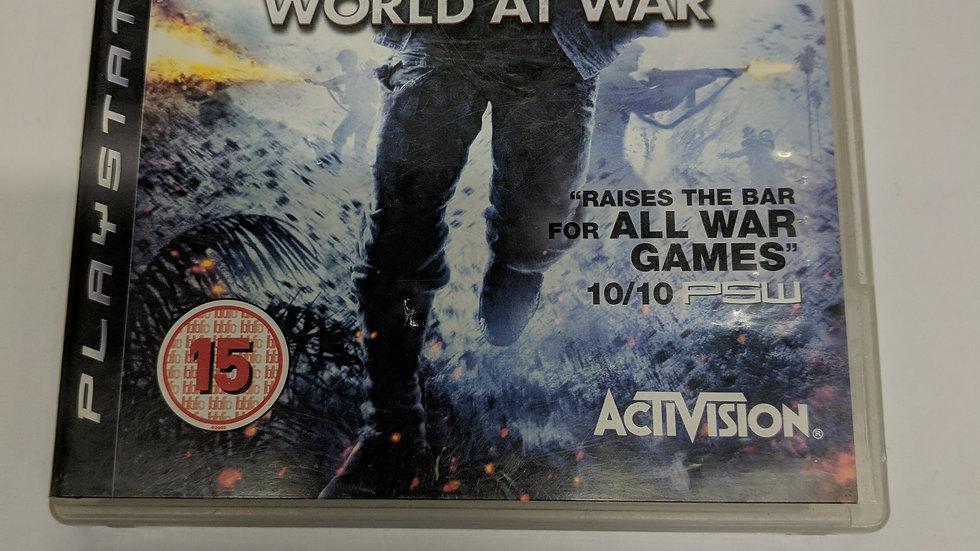 PS3 world at war