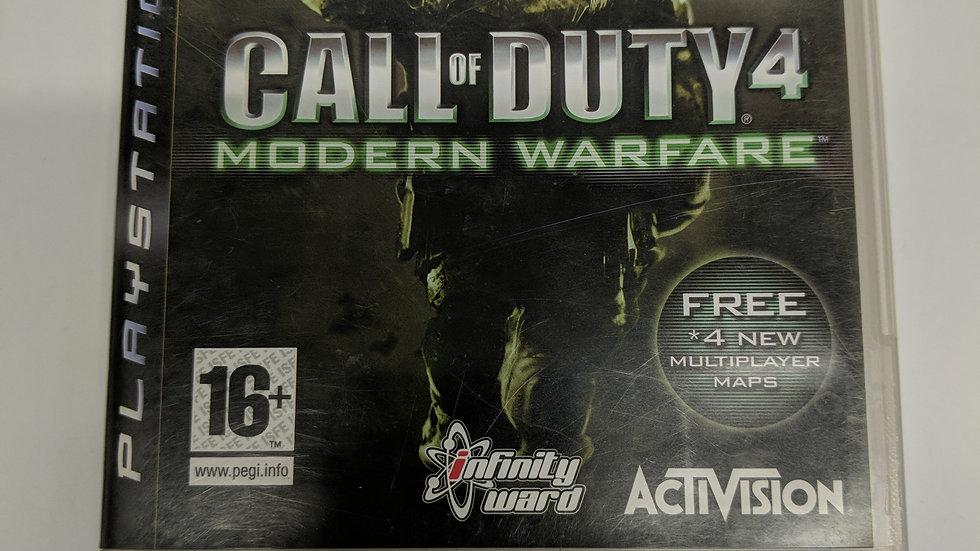PS3 modern warfare