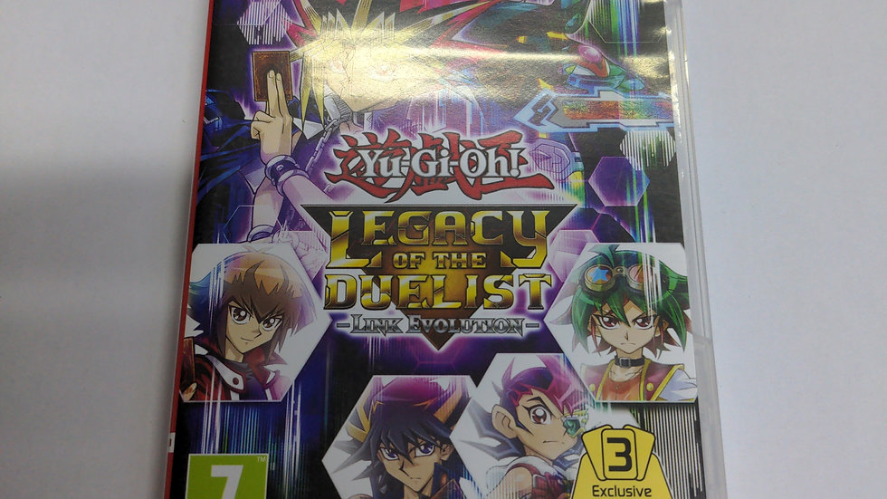 Switch Yu-Gi-Oh legacy of the duelist