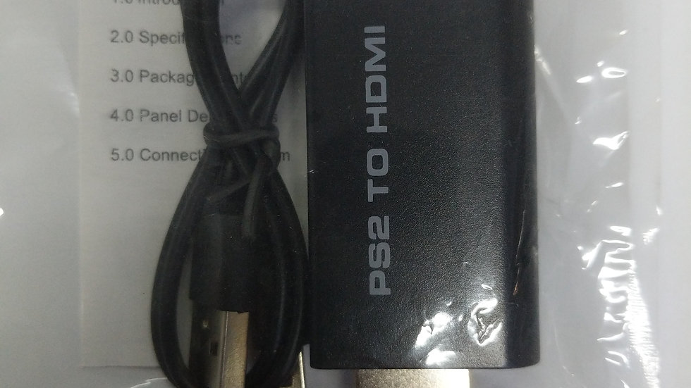 PS2 to hdmi converter