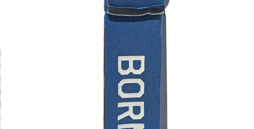 Petit porte-clef BORN TO SURF bleu