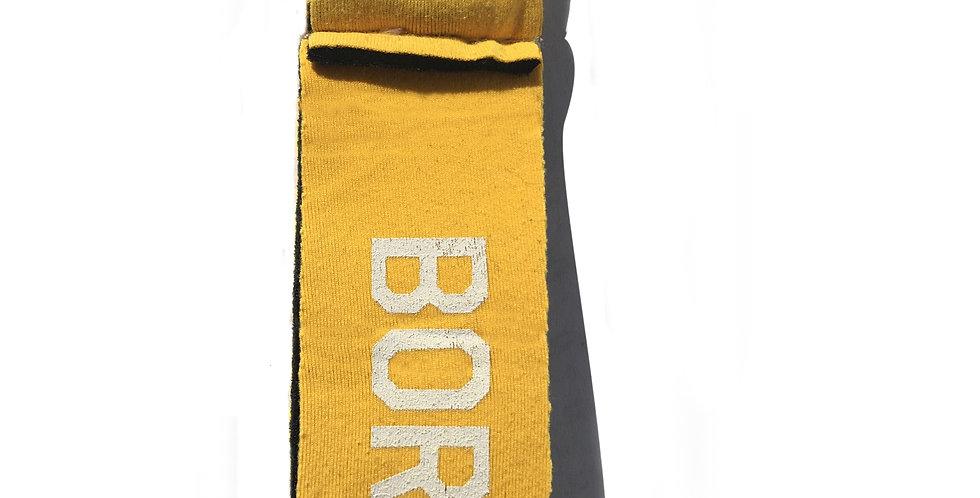 Petit porte-clef BORN TO SURF jaune