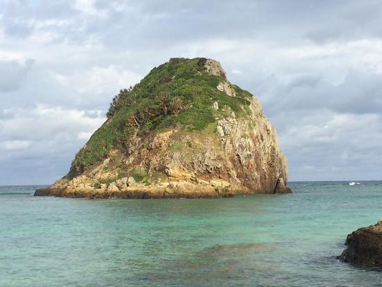 かわいい島を発見