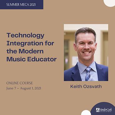 Keith Ozsvath - Technology Integration f