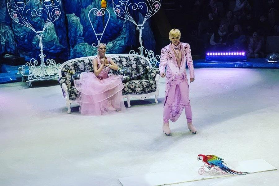 Цирк на льду.Оноприенко