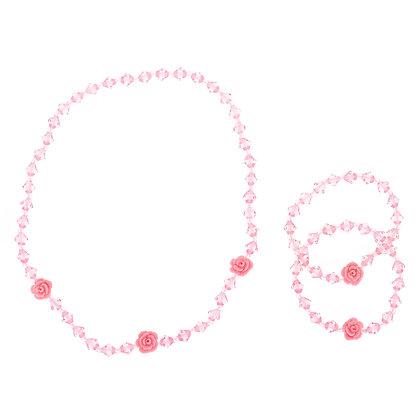Set - rosas 3U (44767)