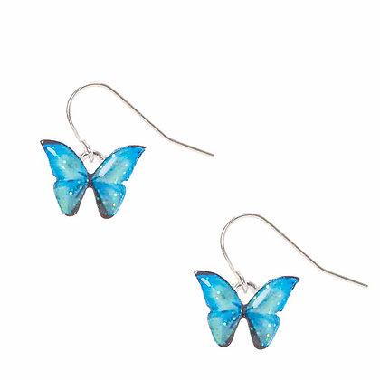 Aretes de mariposa (13616)