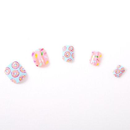 Set de uñas - donas 24U (31373)