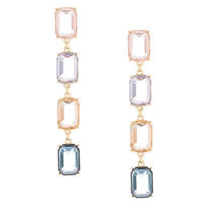 Aretes de gemas (90343)
