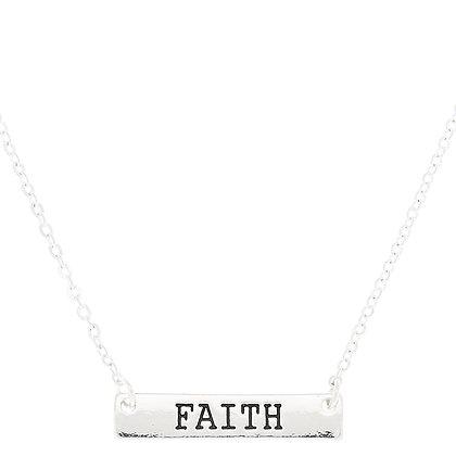 Collar - barra faith (67708)