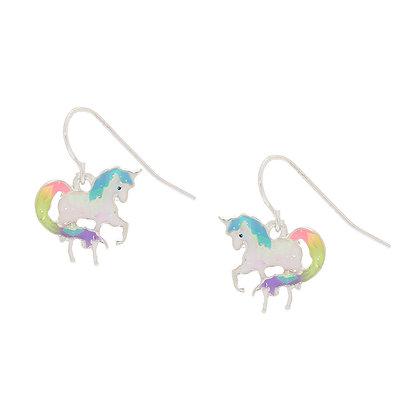 Aretes colgantes - unicornio (66145)