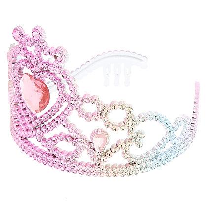 Tiara de corazón - gemas (36714)