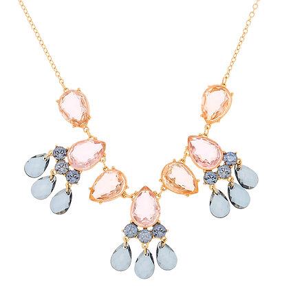 Collar - gemas/lagrimas (90441)