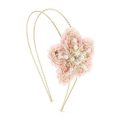 Diadema con flor (69824)