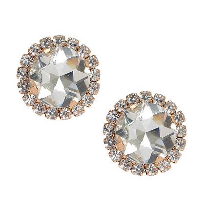 Aretes con cristales (66207)