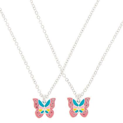 Collares BFF de mariposas (84539)