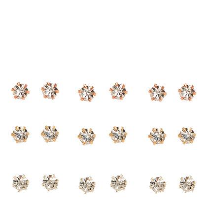 Aretes de cristales 9P (34060)