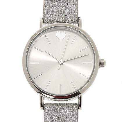 Reloj de mano con escarcha (62688)