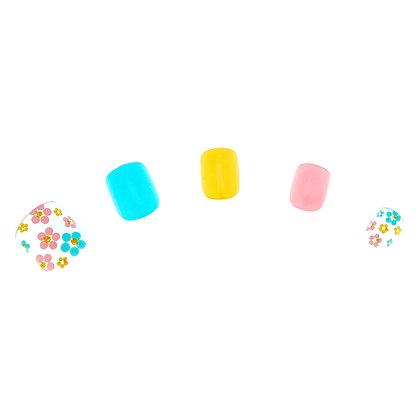 Set de uñas - flores 24U (31788)