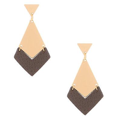 Aretes colgantes - geométricos (88808)