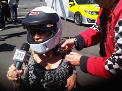 Maria takes a ride at Long Beach